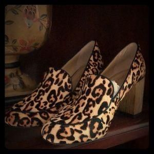 Splendid Leopard Loafer Size 7.5